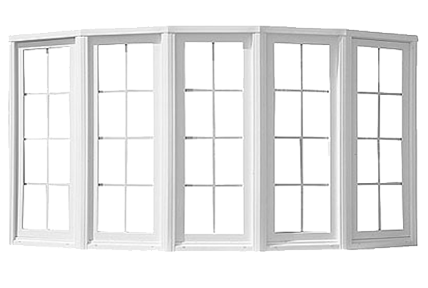 an example of a window with several mulls