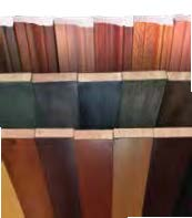 several finish colors available wood and laminate