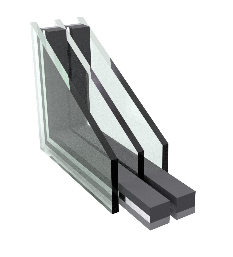 triple pane window