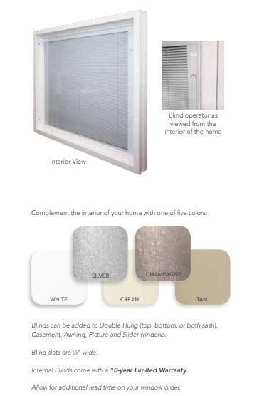 internal blinds